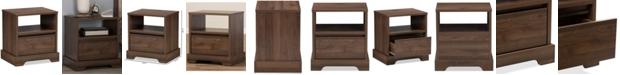 Furniture Burnwood Nightstand