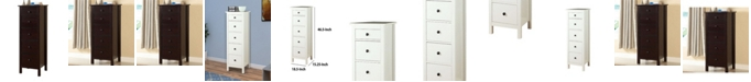 Benzara Contemporary Style 5 Drawers Wooden Chest