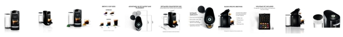 Nespresso Black VertuoPlus Deluxe Coffee and Espresso Machine by De'Longhi