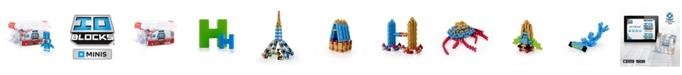 Guidecraft, Inc Guidecraft IO Blocks Minis - 425 Pieces Set