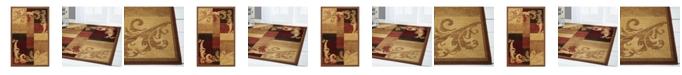 Global Rug Designs Global Rug Design Yorba YOR06 Brown Area Rug Collection