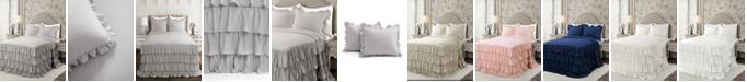Lush Decor Allison Ruffle 3-Piece King Bedspread Set