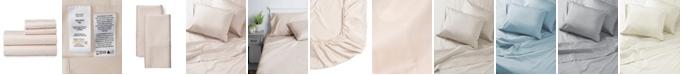 Welhome The Premium Cotton Sateen Twin Sheet Set