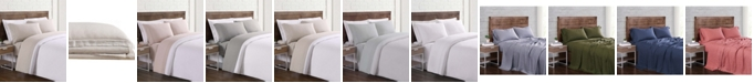 Brooklyn Loom Flax Linen California King Sheet Set
