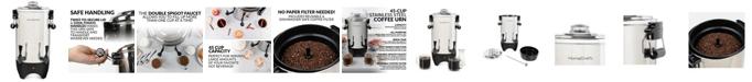 HomeCraft CUDS45SS Quick-Brewing Stainless Steel 1000-Watt Automatic 45-Cup Coffee Urn