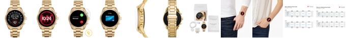 Michael Kors Access Gen 5 Bradshaw Gold-Tone Stainless Steel Bracelet Touchscreen Smart Watch 44mm