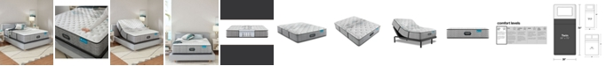 """Beautyrest Harmony Lux Carbon 12.5"""" Extra Firm Mattress - Twin"""