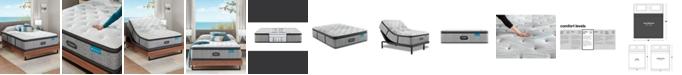 """Beautyrest Harmony Lux Carbon 15.75"""" Medium Firm Pillow Top Mattress - King"""