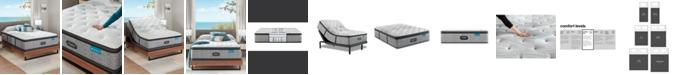 "Beautyrest Harmony Lux Carbon 15.75"" Medium Firm Pillow Top Mattress Collection"