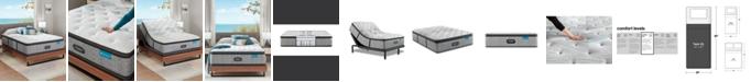 """Beautyrest Harmony Lux Carbon 15.75"""" Medium Firm Pillow Top Mattress - Twin XL"""