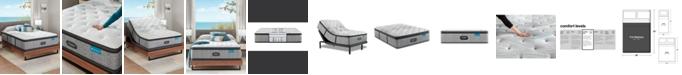 """Beautyrest Harmony Lux Carbon 15.75"""" Medium Firm Pillow Top Mattress - Full"""
