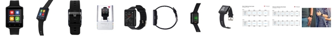 iTouch Air 2 Smartwatch 45mm Black Case with Black Strap