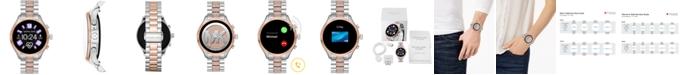 Michael Kors Access Gen 5 Lexington Glitz Two-Tone Stainless Steel Bracelet Touchscreen Smart Watch 44mm, Powered by Wear OS by Google™