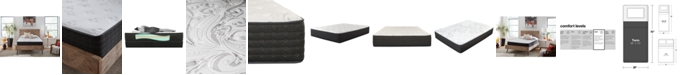 "King Koil iMattress Skarlett Supreme 12"" Plush Mattress- Twin, Mattress in a Box"
