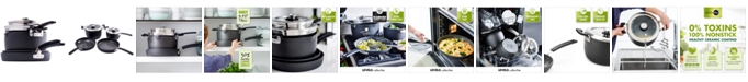 GreenPan Levels 6-Pc. Stackable Ceramic Nonstick Cookware Set