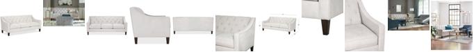"Furniture Chloe II 76"" Fabric Sofa"