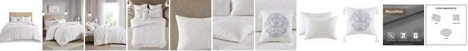 Madison Park Prelude 4 Piece Microsculpt King/California King Comforter Set