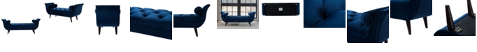 Jennifer Taylor Home Alma Tufted Entryway Bench