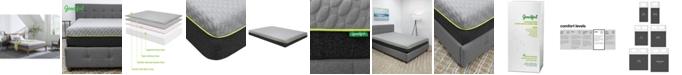 "Goodful 10"" Bamboo Charcoal Memory Foam Plush Mattress in a Box Collection"