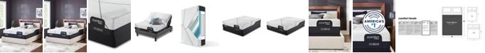 "Serta iComfort by CF 4000 14"" Hybrid Plush Mattress Set - Queen"