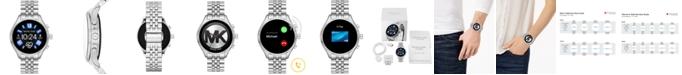 Michael Kors Access Gen 5 Lexington Stainless Steel Bracelet Touchscreen Smart Watch 44mm, Powered by Wear OS by Google™