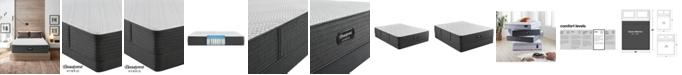 """Beautyrest Hybrid BRX1000-C 13"""" Plush Mattress Set- Queen Split"""