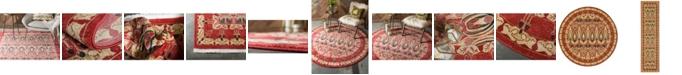 Bridgeport Home Orwyn Orw3 Red/Beige Area Rug Collection