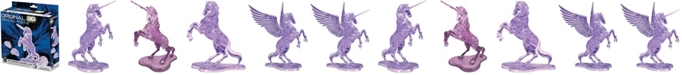 BePuzzled 3D Crystal Puzzle - Unicorn - 44 Pieces
