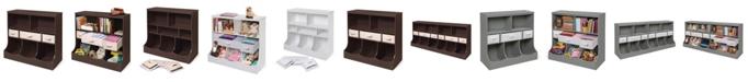 Badger Basket Comb Bin Storage Unit With Three Baskets