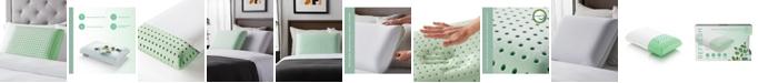 Dream Collection Eucalyptus Mint Aromatherapy Memory Foam Pillow, Standard