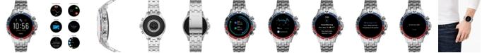 Fossil Men's Gen 5 HR Stainless Steel Bracelet Touchscreen Smart Watch 46mm