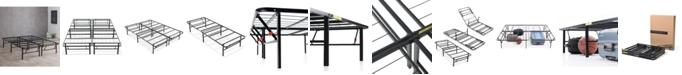 "Sleep Trends Hercules 14"" Platform Metal Bed Frame Collection"