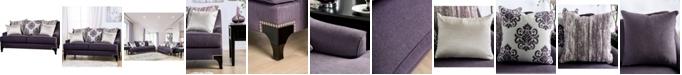 Furniture of America Purple Haze Upholstered Love Seat