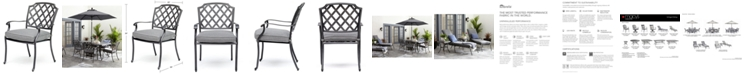 Furniture Vintage II Outdoor Dining Chair With Sunbrella® Cushion, Created for Macy's