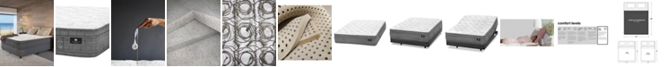 """Hotel Collection by Aireloom Handmade 14.5"""" Luxury Plush Euro Top Mattress- California King, Created for Macy's"""
