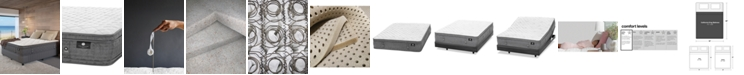 """Hotel Collection by Aireloom Handmade 13"""" Extra Firm Euro Top Mattress- California King, Created for Macy's"""