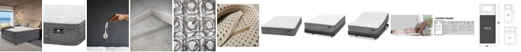 "Hotel Collection by Aireloom Handmade 13"" Extra Firm Euro Top Mattress- Twin XL, Created for Macy's"