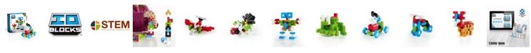 Guidecraft, Inc Guidecraft IO Blocks - 114 Pieces Set