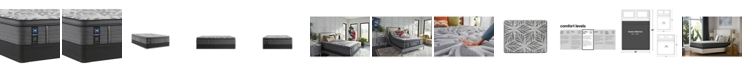 "Sealy Premium Posturepedic Satisfied II 14"" Cushion Firm Pillow Top Mattress Set- Queen"