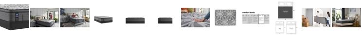 """Sealy Premium Posturepedic Satisfied II 14"""" Plush Pillow Top Mattress Set- King"""