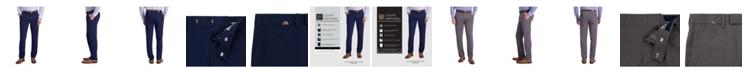 Louis Raphael Comfort Stretch Mini Stripe Slim Fit Flat Front Dress Pant