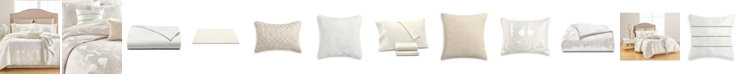 Martha Stewart Collection CLOSEOUT! Chateau Antique Filigree 14-Pc. Queen Comforter Set, Created for Macys
