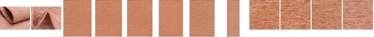 Bridgeport Home Pashio Pas8 Terracotta Area Rug Collection