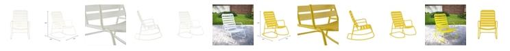 Novogratz Collection Novogratz Poolside Collection Roberta Outdoor Rocking Chair