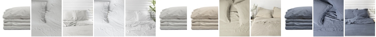 Jennifer Adams Home Jennifer Adams Relaxed Cotton Sateen Queen Sheet Set