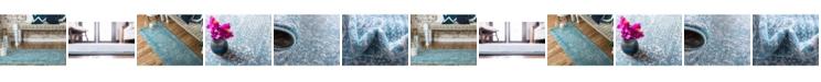 Bridgeport Home Wisdom Wis3 Light Blue Area Rug Collection