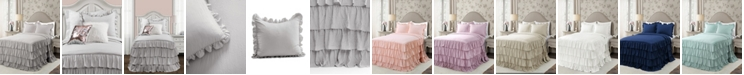 Lush Decor Allison Ruffle 2-Piece Twin XL Bedspread Set