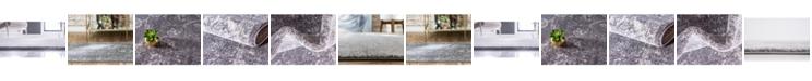 Bridgeport Home Wisdom Wis6 Dark Gray Area Rug Collection