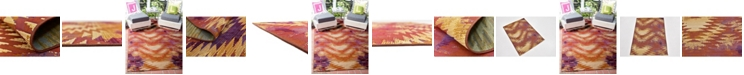 Bridgeport Home Pashio Pas2 Red Area Rug Collection