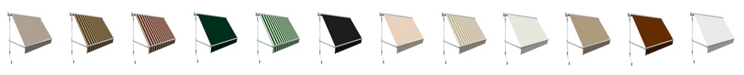 """Awntech 5' Mesa Window Retractable Awning, 24"""" H x 24"""" D"""